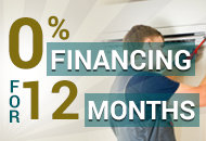 0% Financing For 12 Months